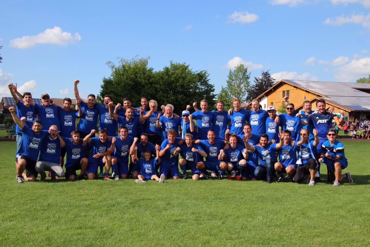 Die TSVA-Meistermannschaft 2018